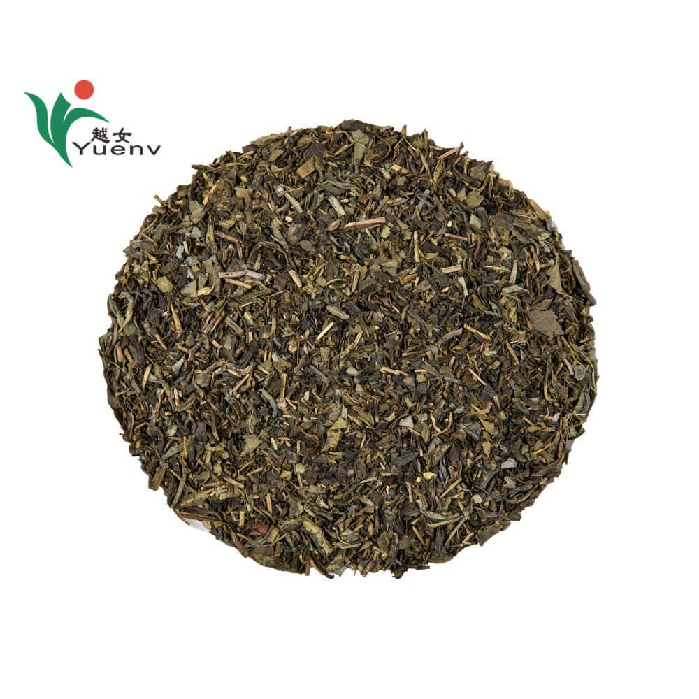 Clear shape green tea 9366